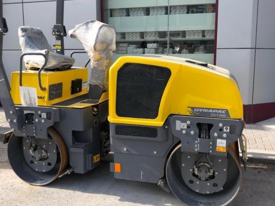 Roller compactor rental