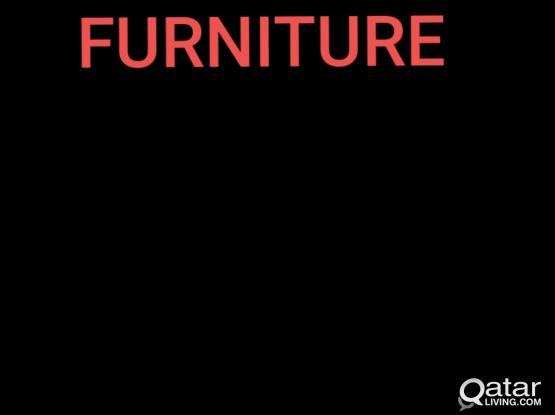 Home furniture (1 double bed,2 single beds,dinning, center table dressing table tv tabke)