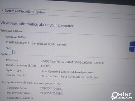 laptop i5 for sale