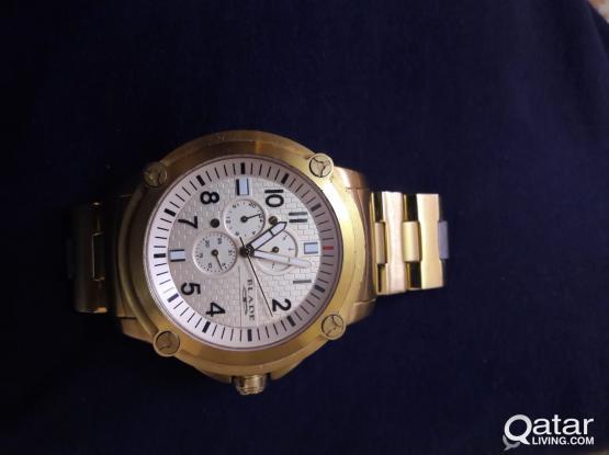golden blade watch