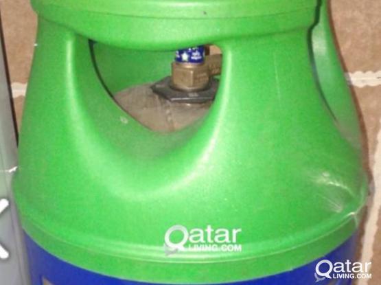 Woqood shafaf gas cylinder and regulator & Pipe