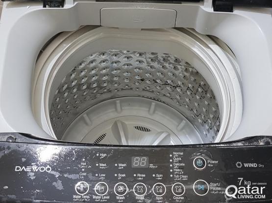 Washing Machine and Fridge