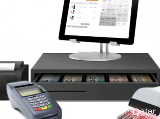 CCTV Camera and POS (Cash Register Software)