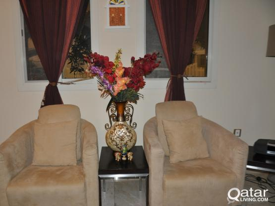 2 Suede sofas