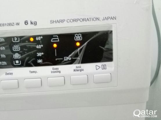 Washing Machine - Sharp 6K - Japan