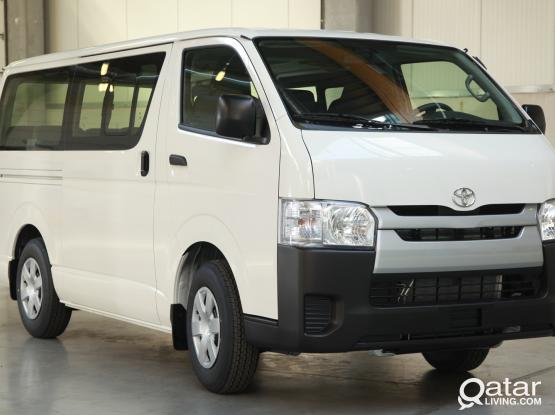 Vehicle Rental - Toyota Hiace/Nissan Urvan/Toyota Coaster/Nissan Civilian/Leyland Bus/Tata Bus
