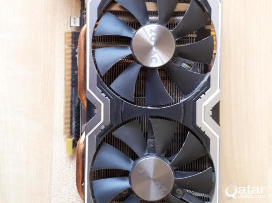 Zotac Nvidia GTX 1070 Gaming Graphics Card 8GB