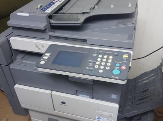 konica minolta and thosiba printer for urgent sale
