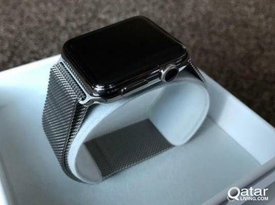 apple watch stainless steel s2 42mm