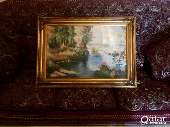 Classy Painting  with Majestic frame