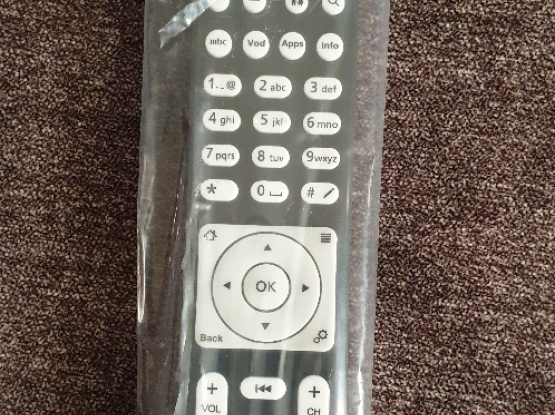 new ooredoo remote control