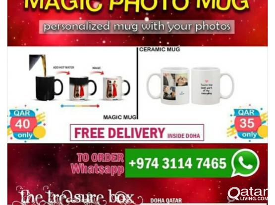 Magic Mug Print / Water Bottle Print
