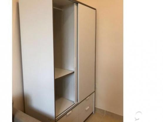 wardrobe with sliding doors 4 drawers