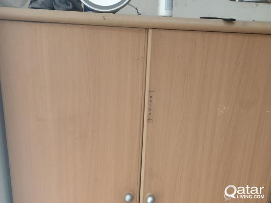 Immediately Sale for Steel Cot, Wooden Cupboard Al Wakra