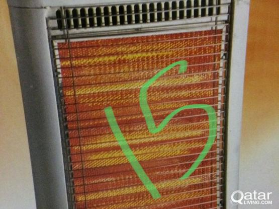A very hot heater in very good condition