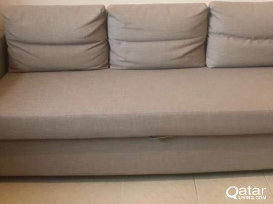 three seat sofa bed