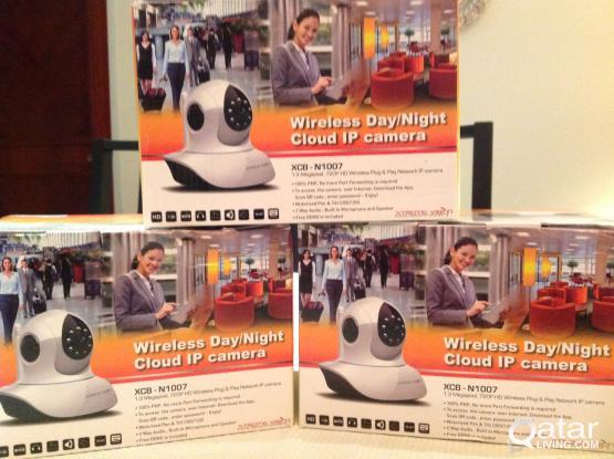 Wireless Day/Night Security Cameras