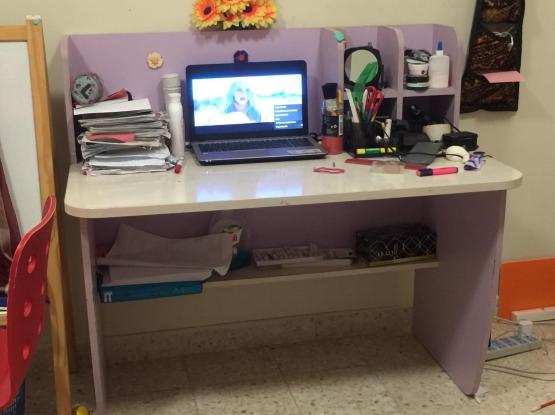 Kid's Bed+Mattress+Dressing Table+Side Table+StudyTable...