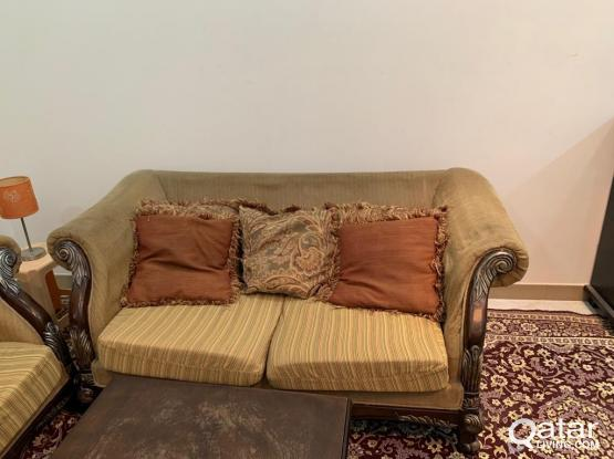 Sofa(3 Seater+ 2 Seater) for free