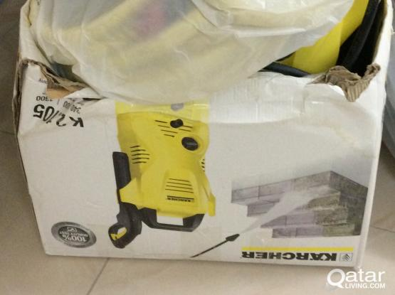 A karcher pump machine excellent for cleaning