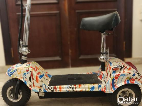 Heavy Electric scooter