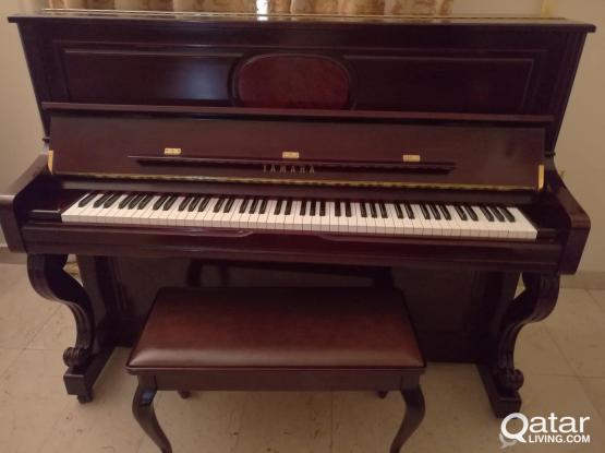 Yamaha Professional Upright Grand piano. Model U10H SM