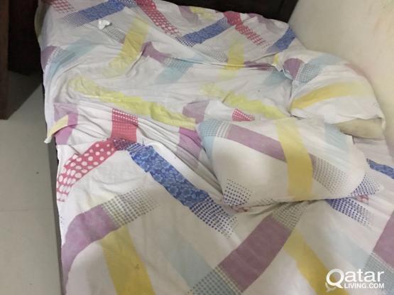 King size Bed 2 set, wardrobe for urgent sale