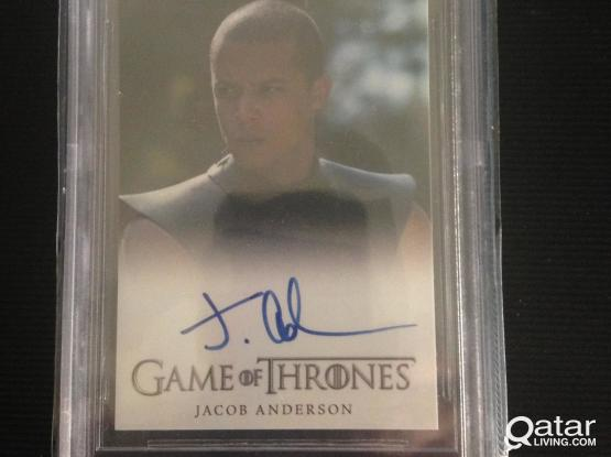 Game of Thrones Jacob Anderson ( Grey Worm)