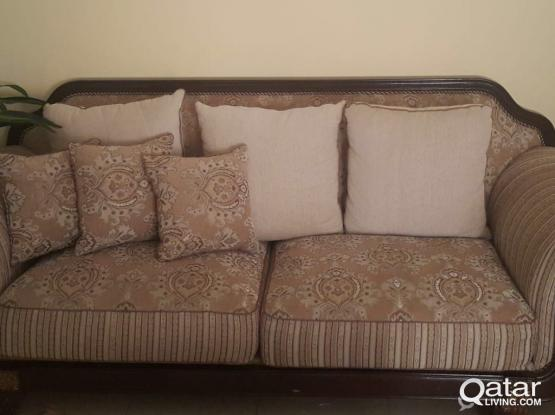 Sofa Set +Middle Table + 2 Side Tables