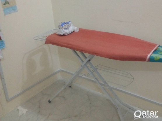 Ironing board and iron box for sale