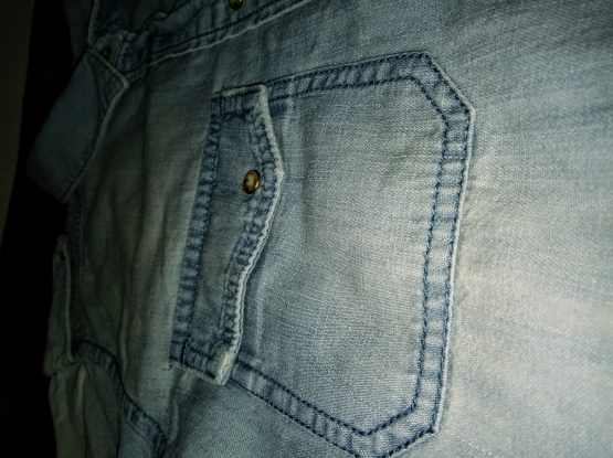 Mango Jeans Womens Denim Shirt-XS brand new