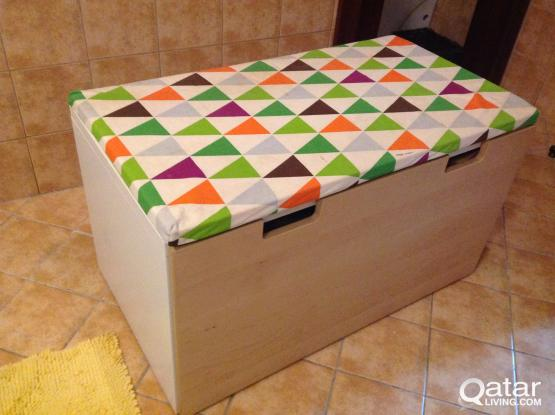 Storage Bench + Mat