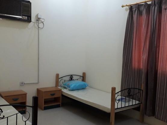 fully furnished 2 bhk QAR 3500