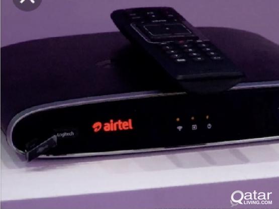 Airtel Internet TV Receiver 250 Riyal