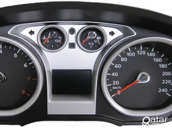 Nissan Tiida & Ford Focus Meter (instrument Cluster) Repair