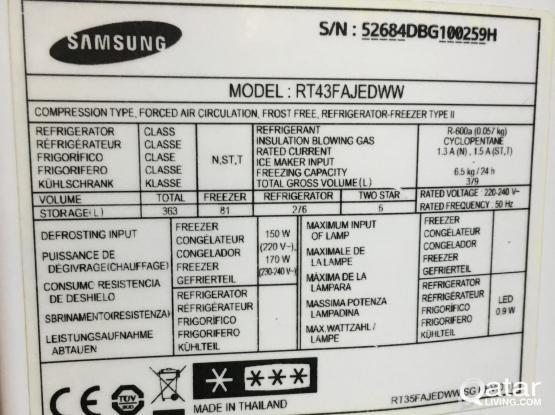 Samsung 390L