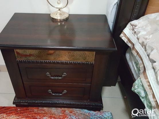 Bedroom set for Sale only QR 1200