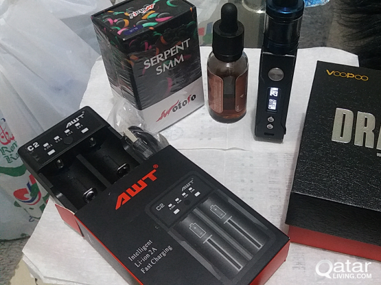 Used Drag Full set with Battery charger