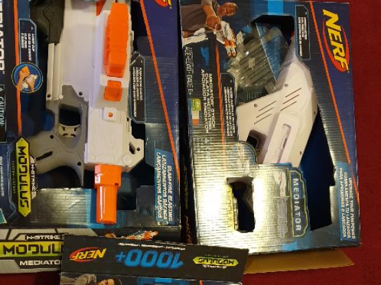 Nerf Modulus Mediator Full set