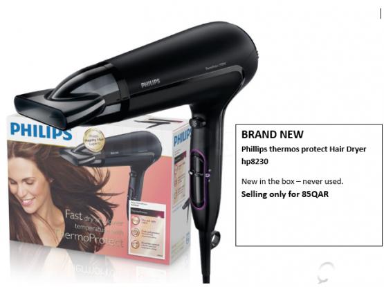 BRAND NEW Phillips Hair Dryer (hp8230)