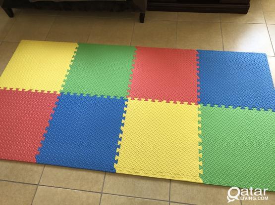 Kids mat constructor