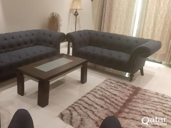 Living room and Bed room in a very good condition like new.