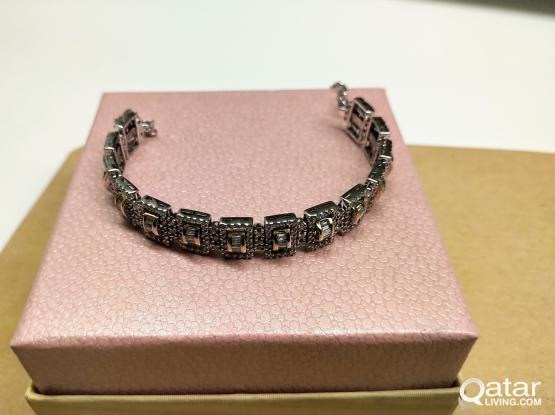 SALE 14K Diamond Bracelet
