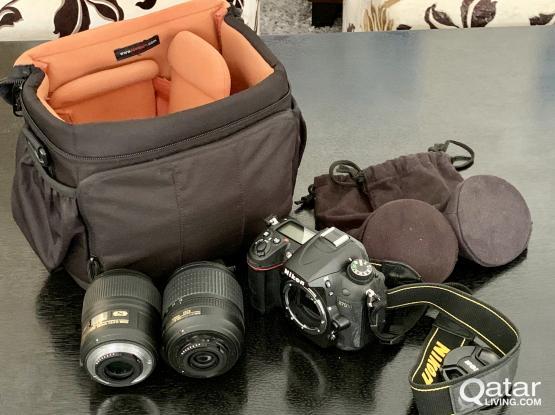 Nikon D7000 DSLR Camera Kit with 2 lens