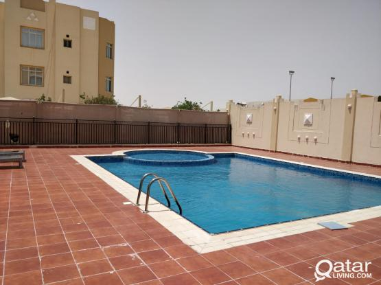 1BR FF Flat in a Compound wth Water & Elect FREE
