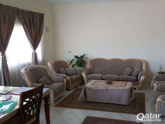 Sofa + 4 Chairs | كنبة + ٤ كراسي