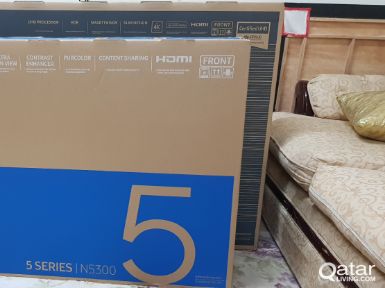 """Samsung full hd tv 49"""" new unopened purchased from"""