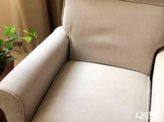 Adjustable armchair