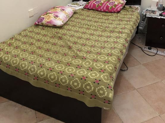 Brand new Single bed wooden cot and new mattress