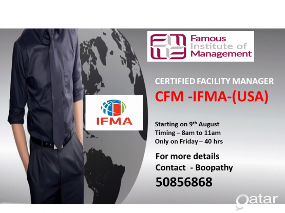 Certified facility management training